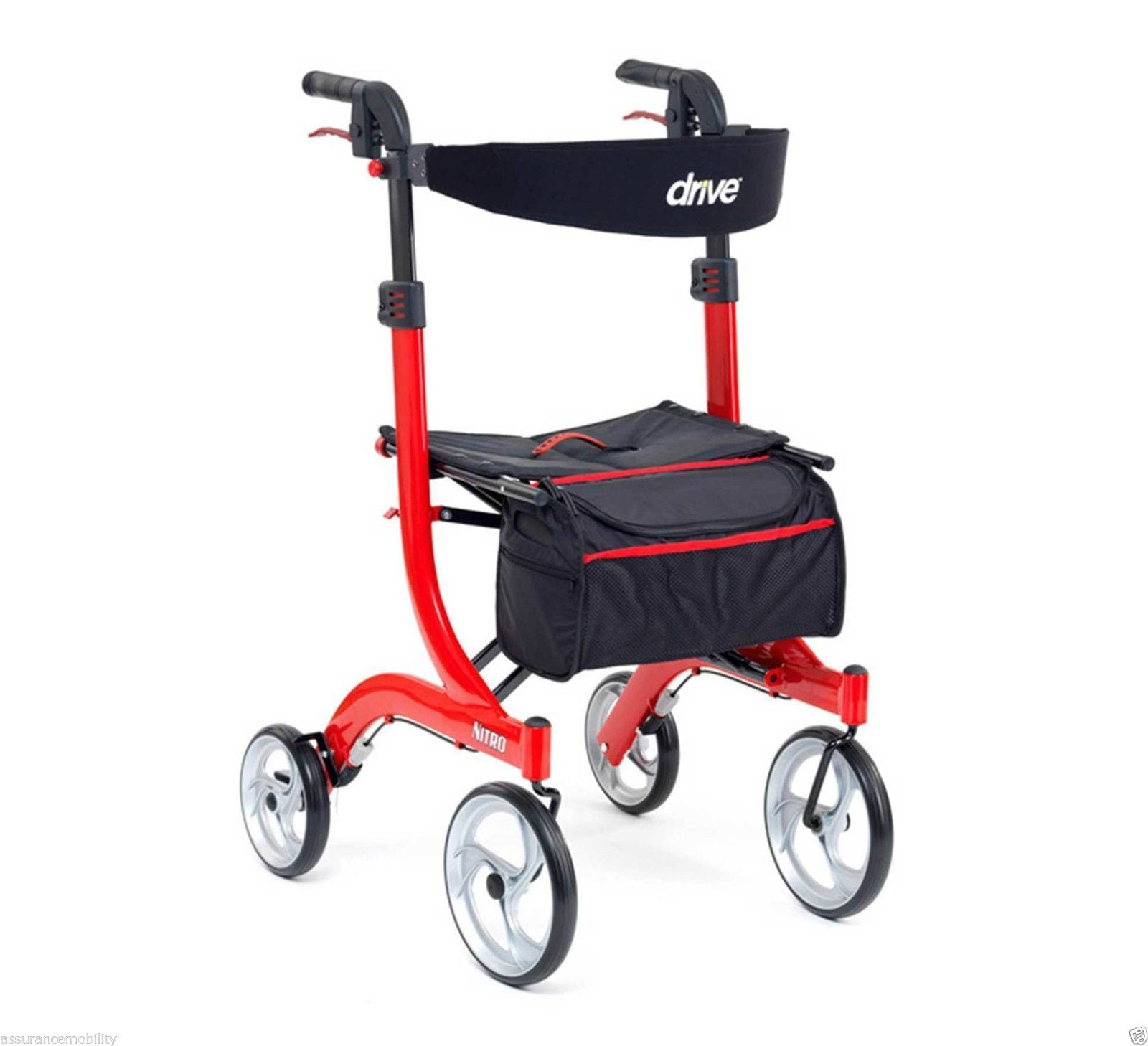 Drive Nitro Rollator Tall Breeze Mobility Bournemouth